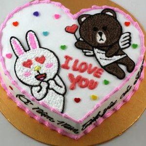 Bánh tặng người yêu