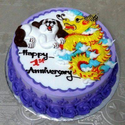 Bánh sinh nhật cho bé tuổi rồng