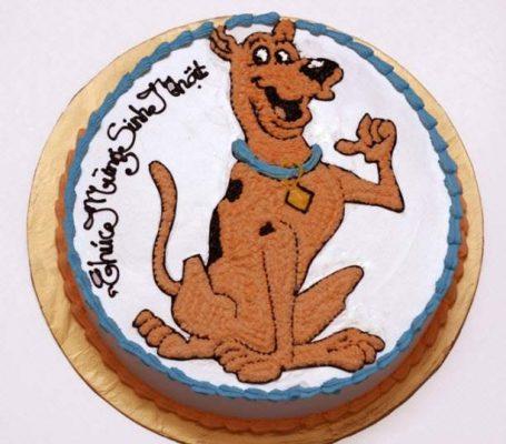 Bánh kem hình chó con