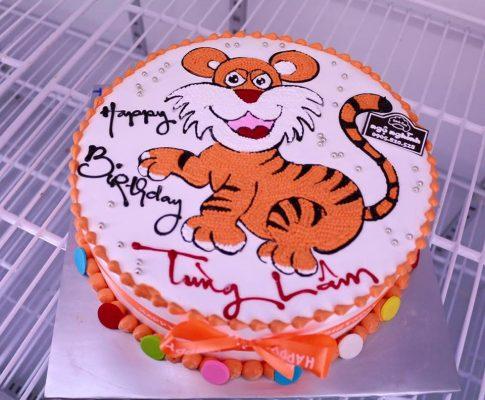 bánh sinh nhật chú hổ vằn